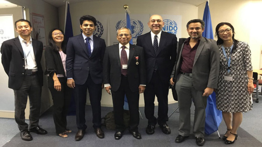 Haison, UNIDO'S Joint partnership Summit
