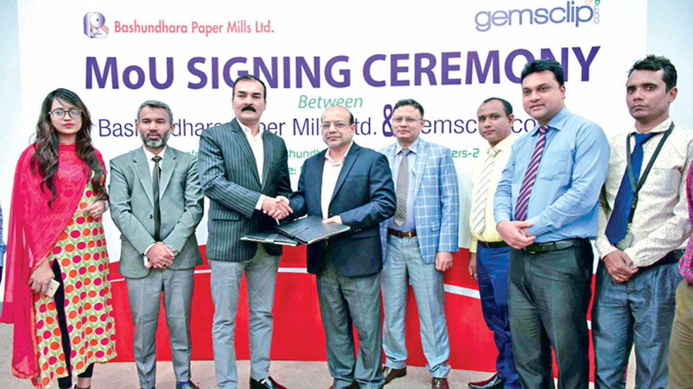 E-commerce Website 'Gemsclip' to have Bashundhara Products now